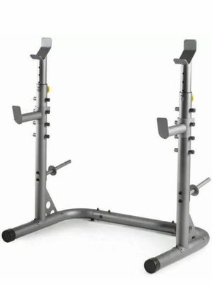 Gold's Gym XRS 20 Olympic Workout Rack WEIGHT RACK for Sale in Queen Creek, AZ