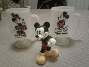 Mickey and Minnie coffee mugs for Sale in Lodi, CA