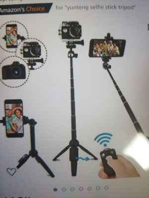 selfie stick tripod 40in for Sale in South Burlington, VT