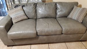 SOFA AND LOVE SEAT GRAY COLOR for Sale in Fort Worth, TX