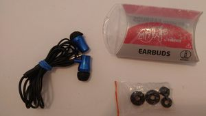 Earbuds with extra earpieces for Sale in Goose Creek, SC