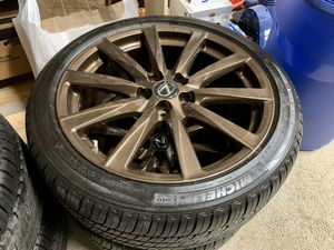 """Lexus ISF sport 19"""" wheels and tires for Sale in Fall River, MA"""