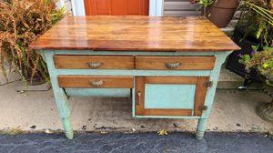 Antique 1920's Wood Hoosier Cabinet with Possum Drawer Restored Resto-mod for Sale in CARPENTERSVLE, IL