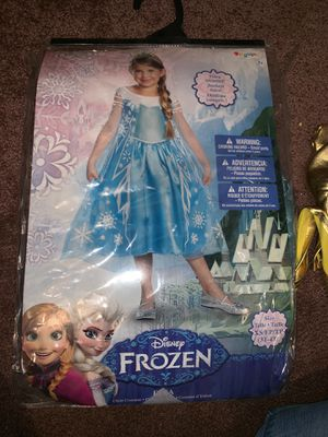 Elsa costume dress for Sale in Anaheim, CA