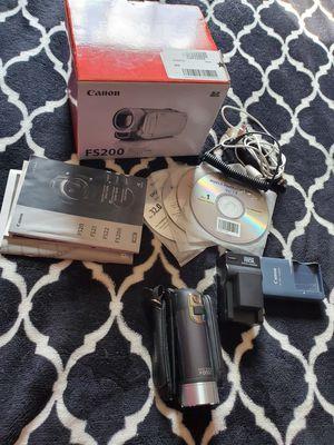 Canon FS200 digital camcorder for Sale in Ephrata, PA