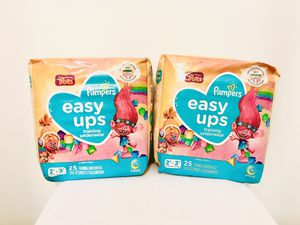 $14 Easy Ups Diapers for Sale in Pittsburgh, PA