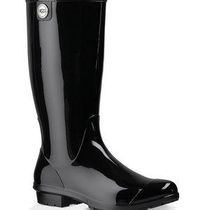 Ugg Black Tall Rain Boot -Size 11 for Sale in Turlock, CA