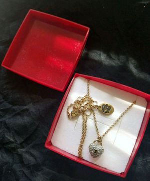 Juicy couture heart necklace for Sale in Vestal, NY