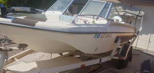 Fishing/leisure boat. Glastron, tri v hull w/ 85 hp johnson outboard for Sale in Chandler, AZ