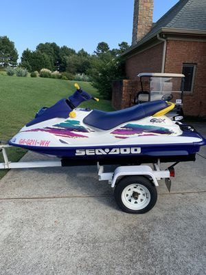 1997 SeaDoo GSX $2999 only 100 hours on motor original owner. for Sale in Hoschton, GA