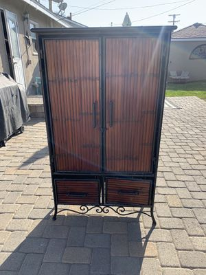 Bamboo armoire for Sale in South Gate, CA