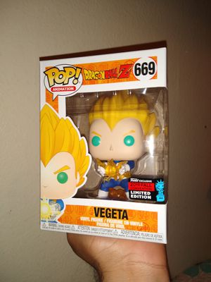 Funko Pop - Dragon Ball Z - Vegeta - NYCC Shared Exclusive for Sale in Los Angeles, CA