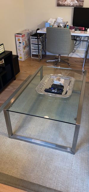 Glass Coffee Table for Sale in Annapolis, MD