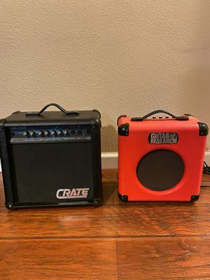 Crate MX15 or Integrated Guitar Amp # VL20 for Sale in Irwindale, CA