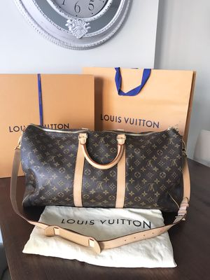 100% Authentic Louis Vuitton Keepall 55 for Sale in Arlington, VA