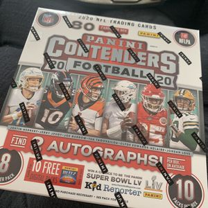 2020 PANINI CONTENDERS MEGA BOX (factory sealed in hand) for Sale in Countryside, IL