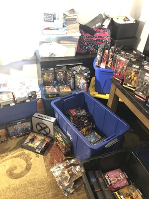 Marvel legends dragon ball z dc legends and more! for Sale in Santa Clara, CA