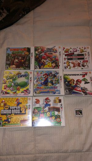 Nintendo 3DS Games Set for Sale in Beaumont, CA