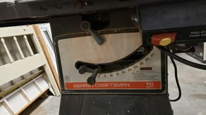 Sears craftsman full size table saw 10in for Sale in Littleton, CO