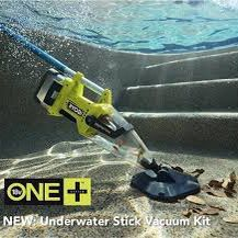 Ryobi P3500K ONE+ Cordless Pool Underwater Stick Vacuum 18V BATTERY INCLUDED for Sale in Tracy, CA