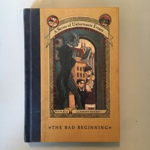 Lemony Snicket's (A Series Of Unfortunate Events) #1 : The Bad Beginning for Sale in Fort Pierce, FL