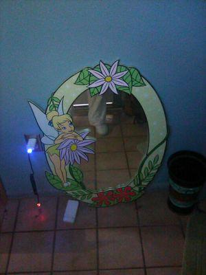 Disney Tinkerbell girls mirror for Sale in Mesa, AZ