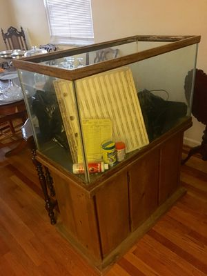 55 gal fish tank for Sale in St. Louis, MO