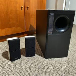 Bose Acoustimass 5 - Cube Speakers & Subwoofer for Sale in Carlsbad, CA