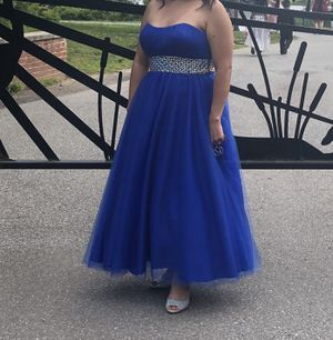 Prom dress talla 12 for Sale in Greenbelt, MD