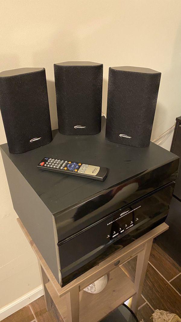 Paramax P-510 5.1 A/V surround sound system