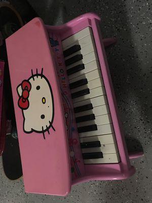 Hello kitty piano for Sale in Tamarac, FL