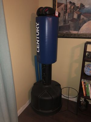 stand up boxing bag/boxing gloves for Sale in Phoenix, AZ