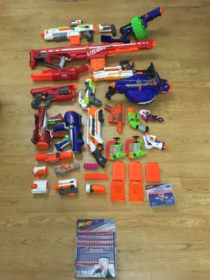 Nerf guns!! for Sale in Pompano Beach, FL