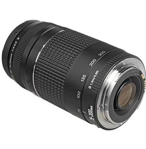 Canon EF 75-300mm f/4-5.6 III Zoom Lens for Canon EOS 7D, 60D, EOS Rebel SL1, T1i, T2i, T3, T3i, T4i, T5i, XS, XSi, XT, XTi Digital SLR Cameras for Sale in Santa Monica, CA