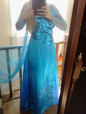 Elsa Floor-length Dress for Sale in Montgomery, IL