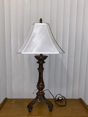 Antique wooden lamp for Sale in Whitehouse, NJ