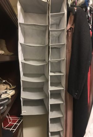 Set of grey and white closet organizers for Sale in Sanger, CA