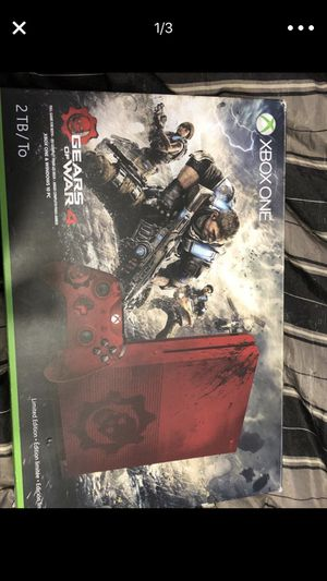 Xbox one s gears of war 4 edition for Sale in Oak Lawn, IL