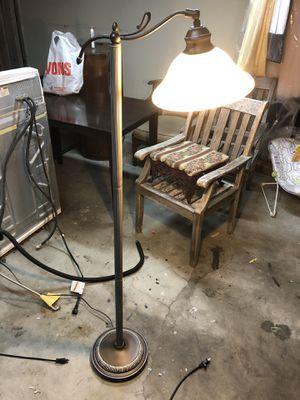 Heavy duty adjustable floor lamp for Sale in Huntington Beach, CA