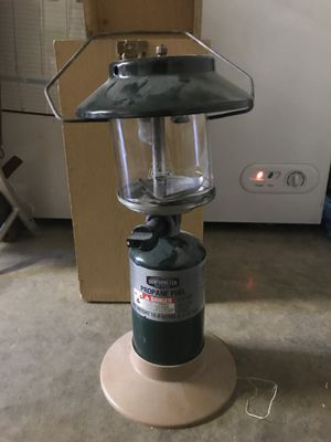 Lantern, Coleman, propane/glass for Sale in Stockton, CA