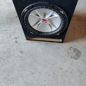 Subwoofer And Amplifier for Sale in Oceanside, CA