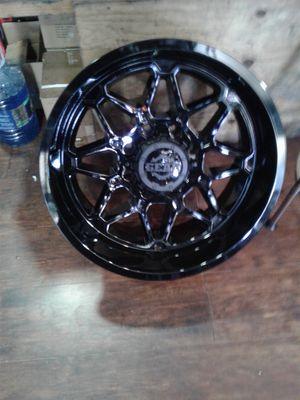 4new rims 20x10 gloss black gear for Sale in Chula Vista, CA