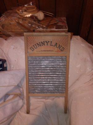 Sunnyland antique washboard for Sale in Suffolk, VA