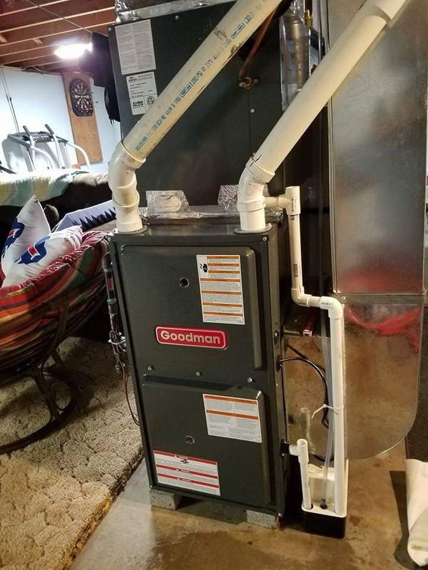 Goodman furnace And air-conditioning install