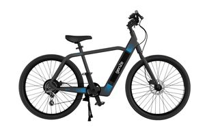 GENZE E201 BLACK/BLUE 350 WATT EBIKE electric bike electric scooter electric bicycle electric motorcycle moped for Sale in Miami, FL