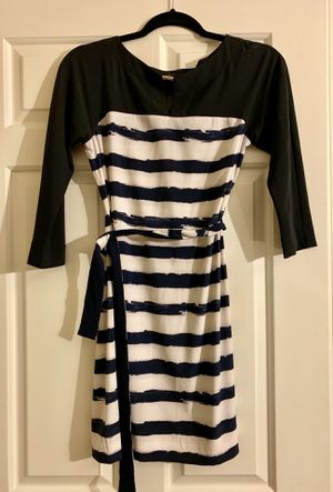 Armani Exchange white and blue dress size 0 for Sale in MONTGOMRY VLG, MD