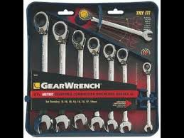 GearWrench Reversible 8 pc wrenches set Mechanic tools for Sale in Boston, MA