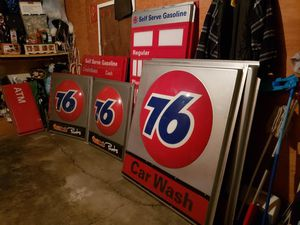 Mancave 76 signs for Sale in Los Angeles, CA