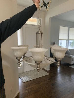 Chandelier and Entry Light for Sale in Bellevue, WA