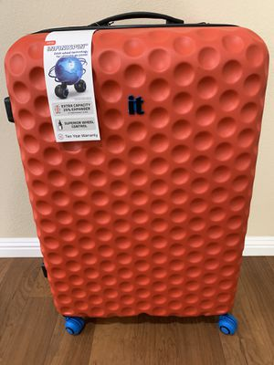 Luggage carry on orange color for Sale in Covina, CA